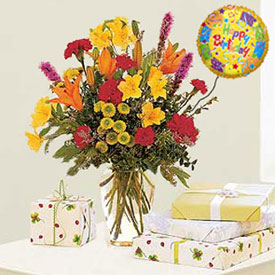 Birthday Arrangement - AREQUIPA